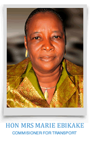Mrs Marie Ebikake - Bayelsa Commissioner for Transport