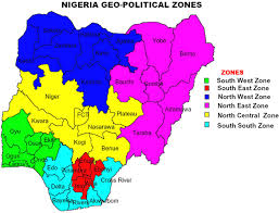 NIGERIA - GEO-POLITICAL ZONE