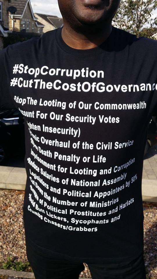 Steve Protest - Corruption