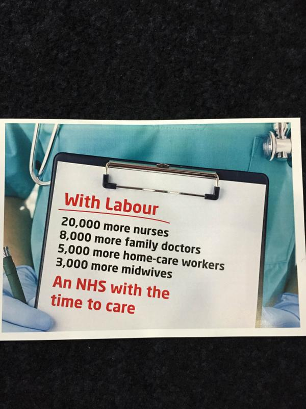 Labour - NHS Pledge