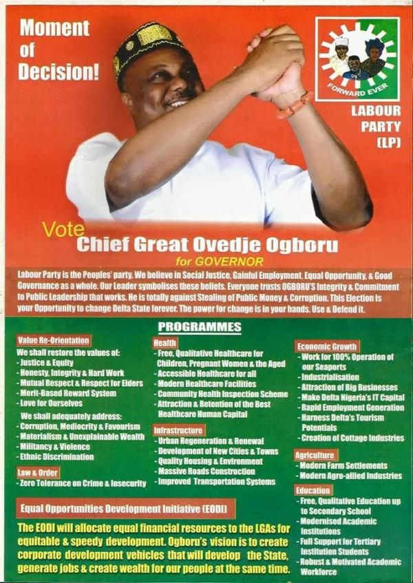 Great Ogboru 4 Governor of Delta State