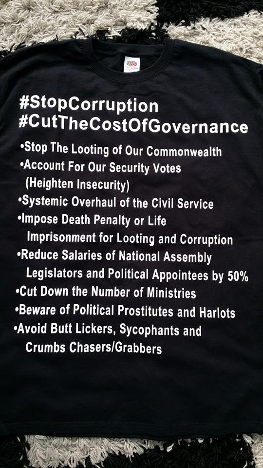 Steve Protest - CorruptionT-Shirt